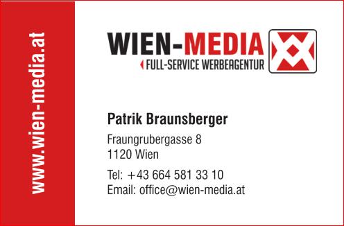 Visitenkarte Wien Media